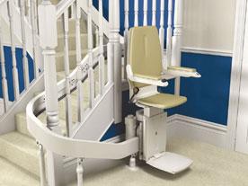 Types de monte escalier